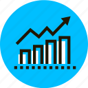 graph, graphics, grid, infographic, line, statistics, stats icon