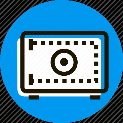 box, cache, grid, money, safe, storage icon