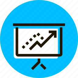 chart, drawing, graph, grid, outline, presentation, schedule icon