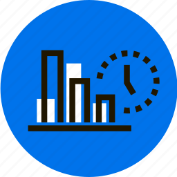 graph, grid, infographic, management, statistics, stats, watch icon