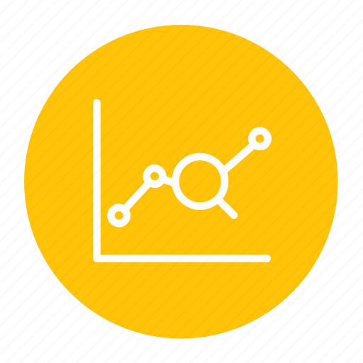 analysis, business, graph, growth, seo icon
