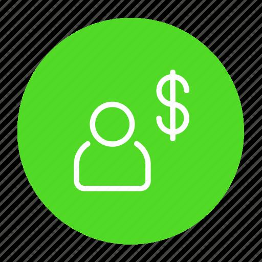 business, dollar, finance, investment, money, profit icon