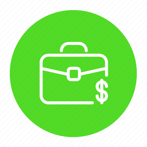 bag, business, cash, dollar, money, suitcase icon