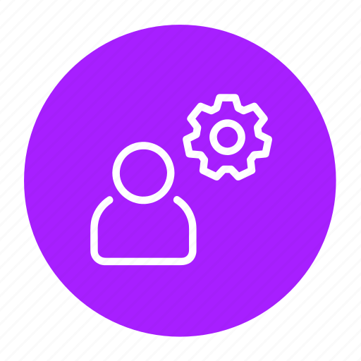 business, manage, options, process, settings, support icon