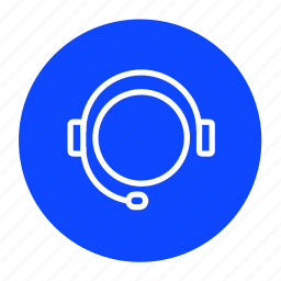 business, communication, conversation, headset, help, support icon