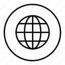 business, global, globe, international, language, trade icon