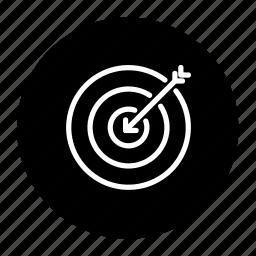 aim, arrow, business, crosshair, gps localization, target icon