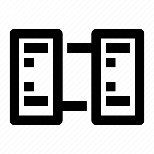 connection, data, database, server, storage icon