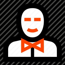bow tie, business, businessman, gentleman, man, rich man icon