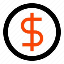 cash, coin, currency, dollar, money, payment, usd icon
