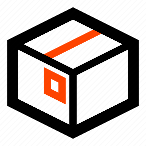 box, crate, post, shipment, warehouse, wrapper icon