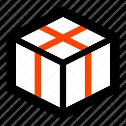 box, case, gift, housewarming, shipment, warehouse, wrapper icon