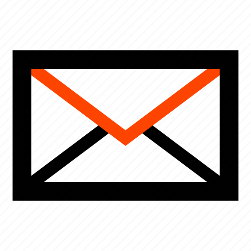 email, envelope, letter, mail, post, postman icon