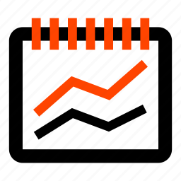 balances, business, currency, financial, line chart, rate, statistics icon