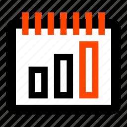 bar chart, bar graph, business, chart, graph, growth, statistics icon
