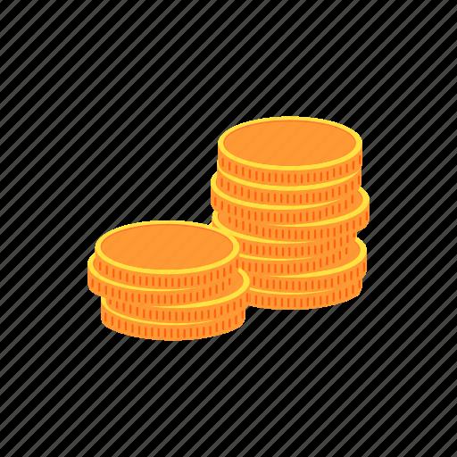 coins, finance, money, taxes icon