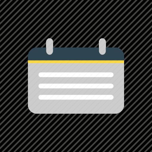 Agenda, calendar, date, schedule icon - Download on Iconfinder