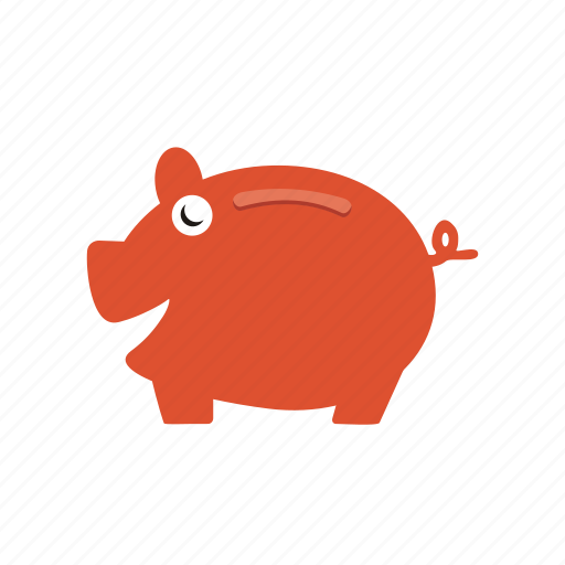 cash, money, pig, saving icon