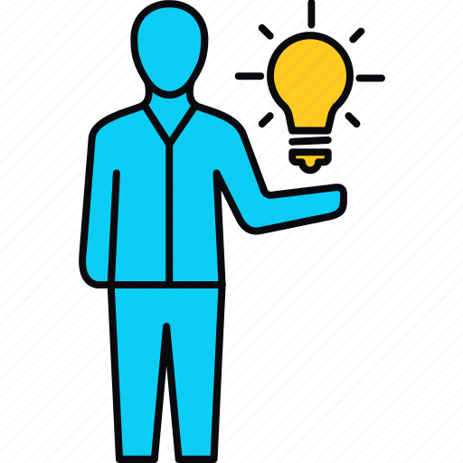 bulb, creative, idea, innovation, invention, think icon