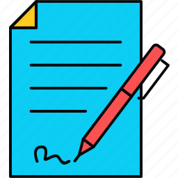 agreement, approve, deal, sign, signature icon