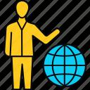 international, work, globe, global