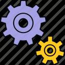 process, processing, configuration, gear, setting, settings