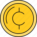 cents, coin, currency, finance, money icon