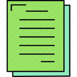 document, file, format, page, paper, sheet, text icon