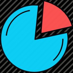 analytics, business, chart, diagram, graph, pie, report icon
