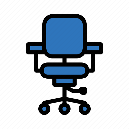 business, chairstationery, office, success icon