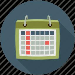 calendar, plan, schedule icon