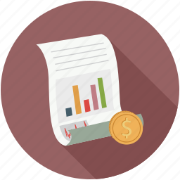 graph, sheet, stats icon