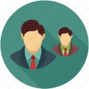 avatar, business people, corporate people icon