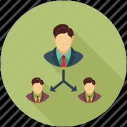 company hierarchy, hierarchy, hierarchy of team, sitemap, team hierarchy icon