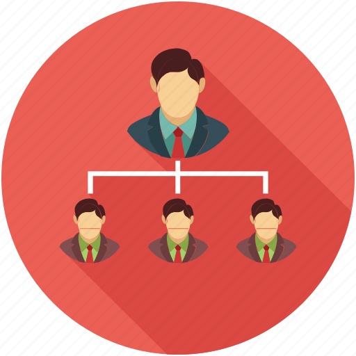 company team structure, hierarchy, hierarchy of team, sitemap, team structure icon