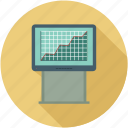 analytics view, growth, sales graph icon