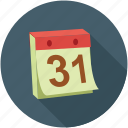 calendar, date, month end, sticky, sticky notes icon