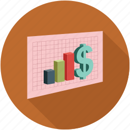 analytics, graph, stats icon
