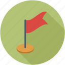 flag, golf flag, red flag, winning flag icon