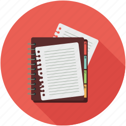 document wallet, documents, jotter, jotter and documents, jotter pad, jotterpad, mix of documents icon