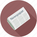 daily news, latest updates, media, news, news updates, newspaper icon