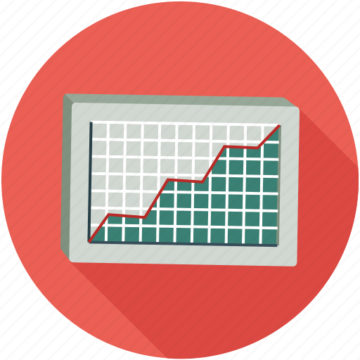 analytics, graph, line graph, statistics icon