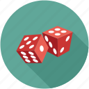 dice, dice pieces icon
