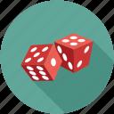 dice pieces, dice