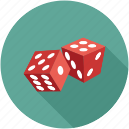 dice, dice pieces icon