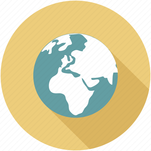 circular world, global, globe, world, world globe, world wide icon