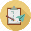 checklist, to do list, todo list icon