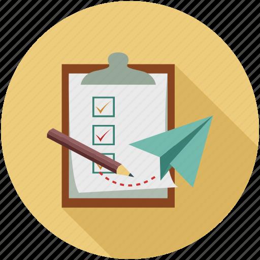 checklist, to do list, todo list icon