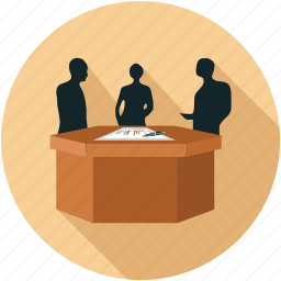 corporate meeting, meeting, meeting room icon
