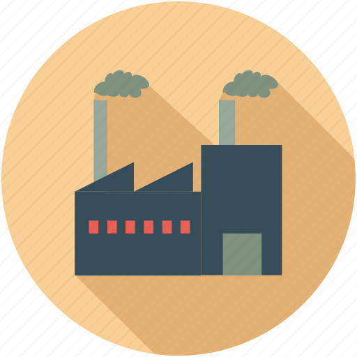 building, factory, firm, foundry, industry, warehouse icon